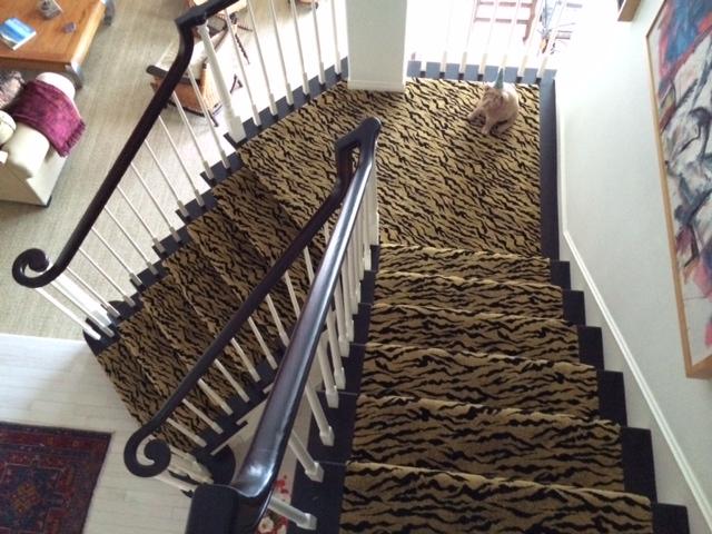 Stair Runner Animal Print Carpet Hemphill39s Rugs