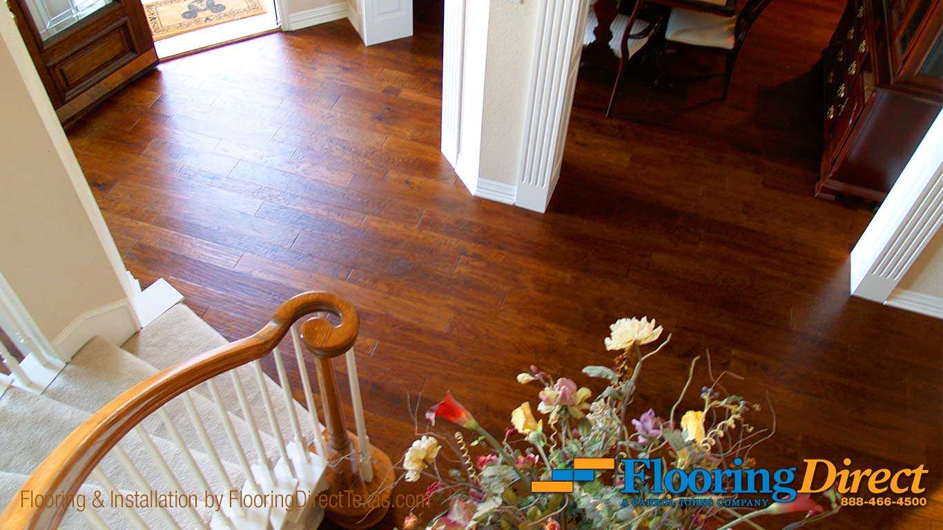 Hardwood Flooring Install By Flooring Direct In Garland