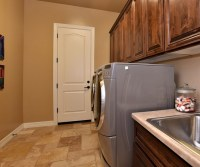 Light brown laundry room tile ideas | Flooring Ideas ...