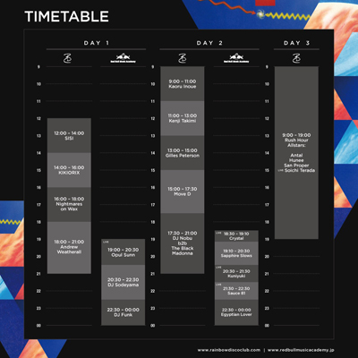 RDC2016_TimeTable
