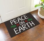 Peace Earth Door Mat