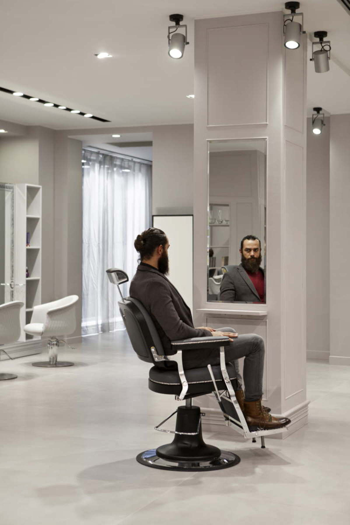 Titti Giovannoni Interior Design Maletti Group Interior Designs A Vintage Barbershop For