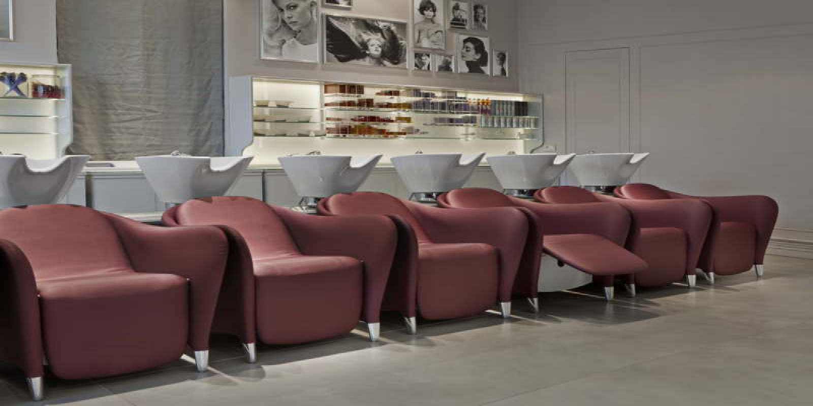 Titti Giovannoni Interior Design Maletti Group Interior Design Barberia Vintage Cosmoprof 2015