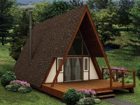 Yakutat A-Frame Home Plan 008D-0161   House Plans and More