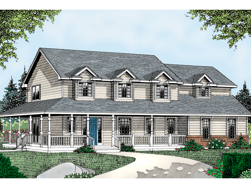 Dalton Farm Country Home Plan 015d 0106 House Plans And More