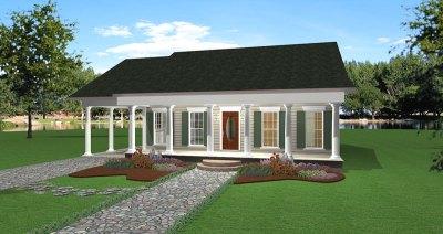 Cedar Run Southern Style Home Plan 028D-0059 | House Plans ...