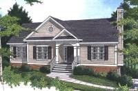 Pecan Island Raised Ranch Home Plan 052D-0002 | House ...