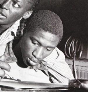 Gil Goggins and Miles Davis