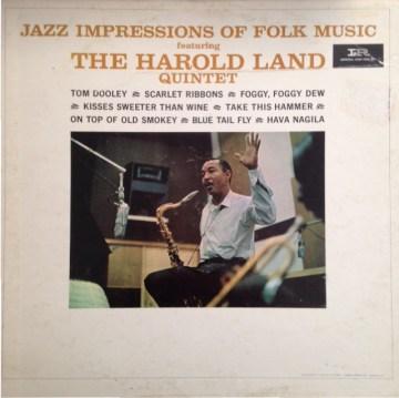Harold Land - Jazz Impressions Of Folk Music