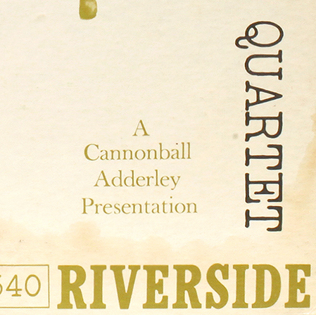 A Cannonball Adderley Presentation
