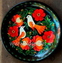 Ceramic Plate Painting & Hand-Painted Ceramic Plates From ...