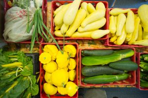 Fresh produce collected for food pantries