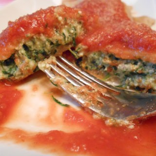 Whole Wheat Spinach & Cheese Ravioli