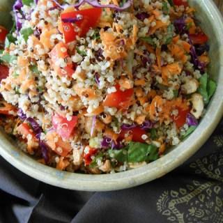 Lemongrass Green Curry Quinoa Salad
