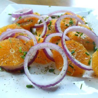 Orange & Red Onion Salad