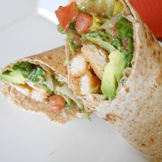 Chipotle Chick'n Wrap