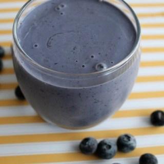 Blueberry Muffin Protein Smoothie