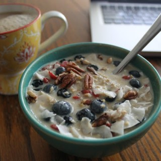 Overnight Steel Cut Oats Muesli