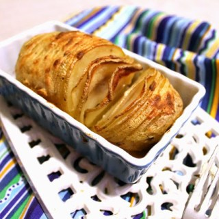 Havarti Hasselback Potatoes