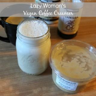Lazy Woman's Vegan Coffee Creamer