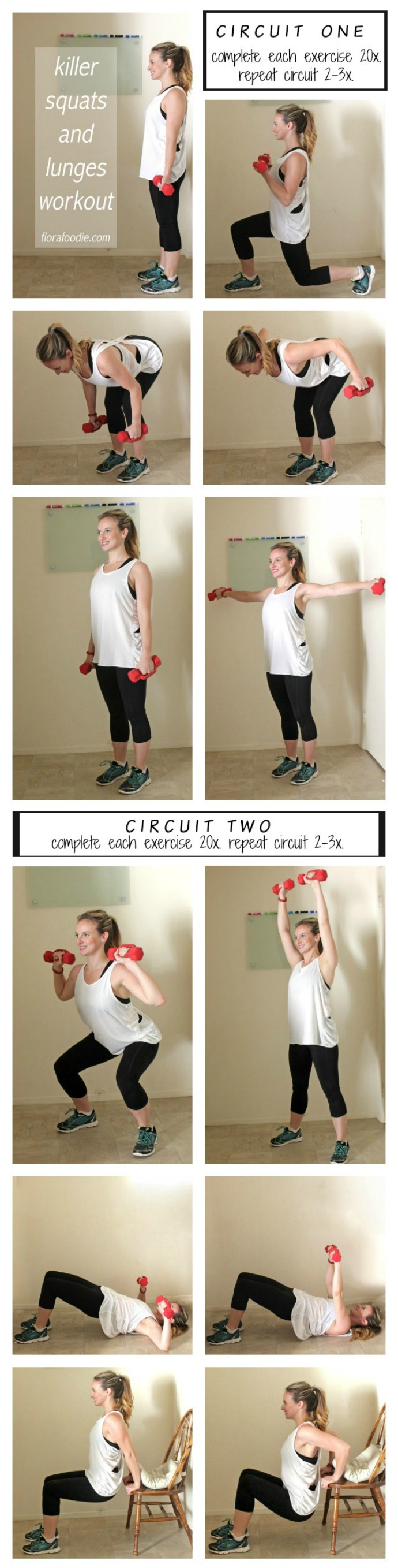 killer squats and lunges workout