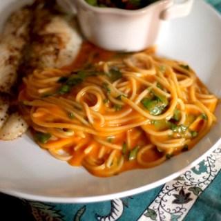Thai Red Curry Pasta Sauce