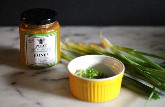 honey habanero corn