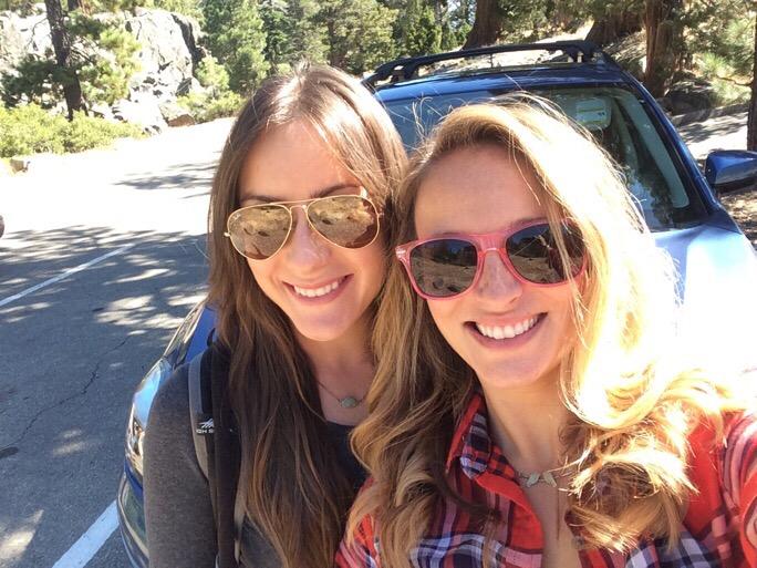 me + Maria tahoe