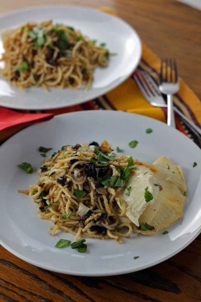anchovy bread crumb pasta