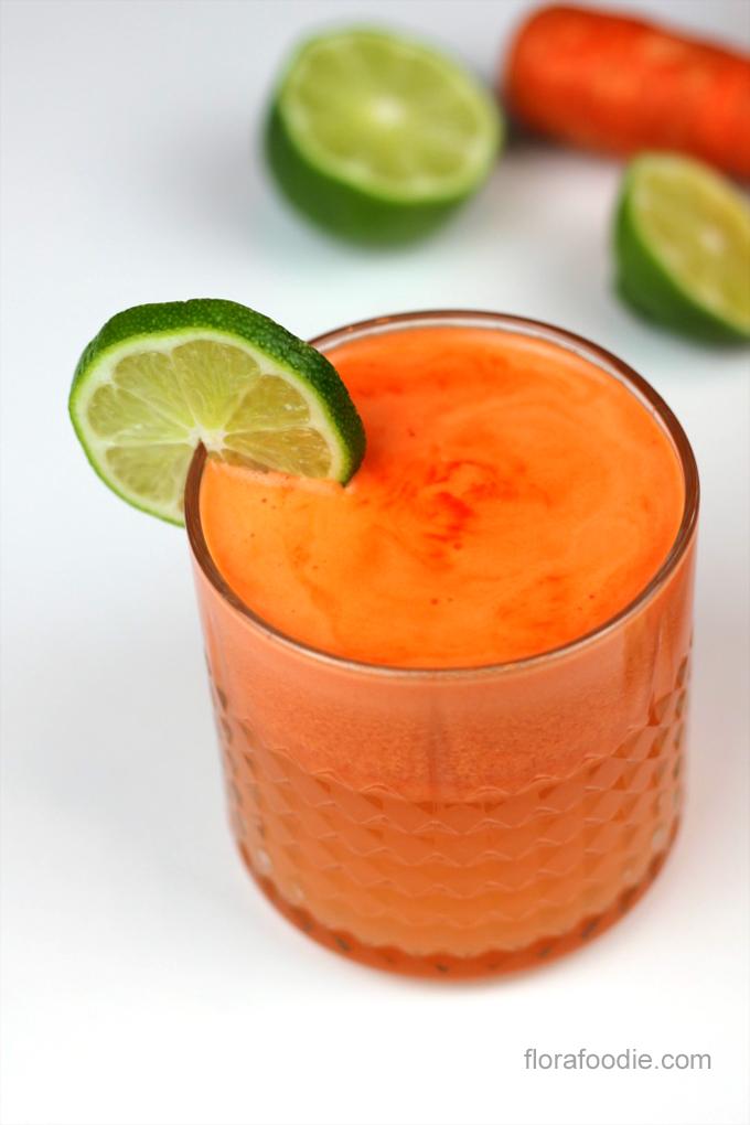 carrot lime ginger juice