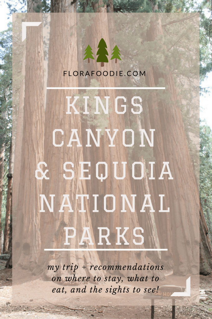Kings Canyon & Sequoia National Park | Flora Foodie