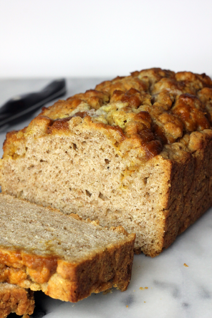 pumpkin spice beer bread