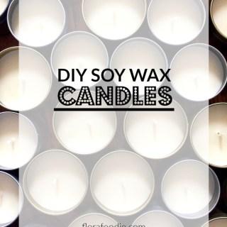 DIY Soy Wax Candles