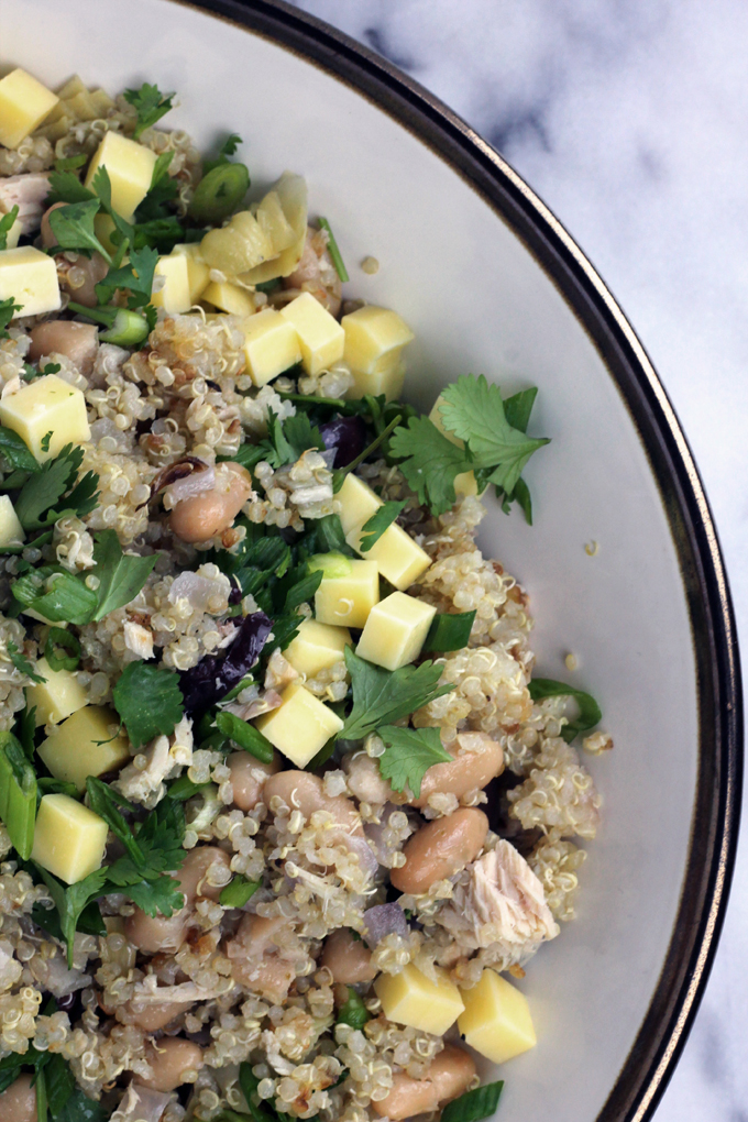 Bean and Quinoa Salad | florafoodie.com