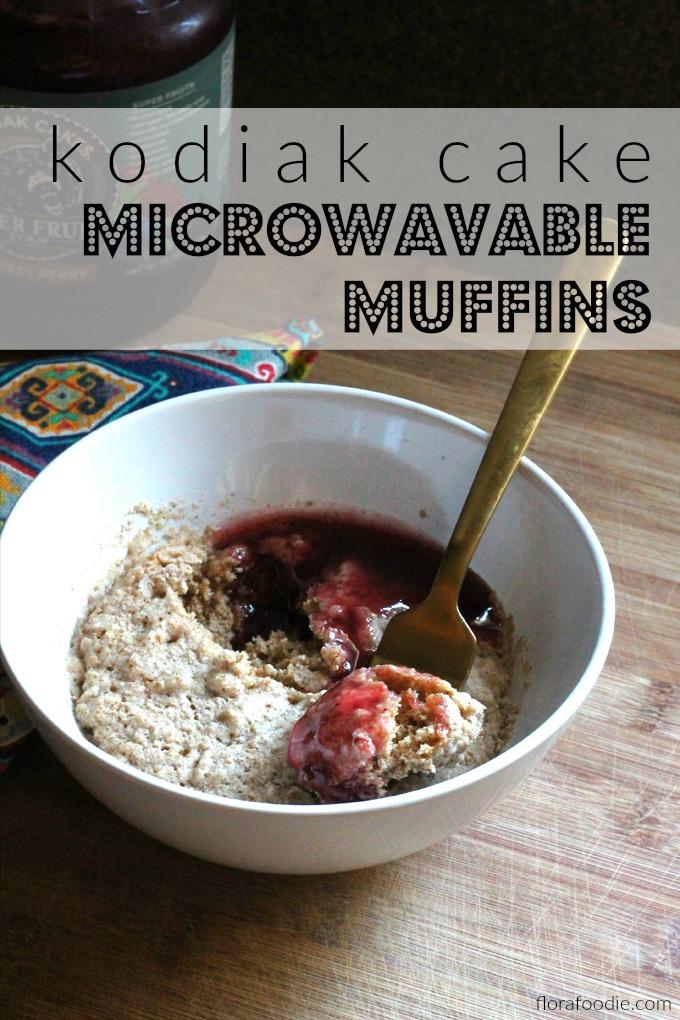 kodiak cake microwavable muffins