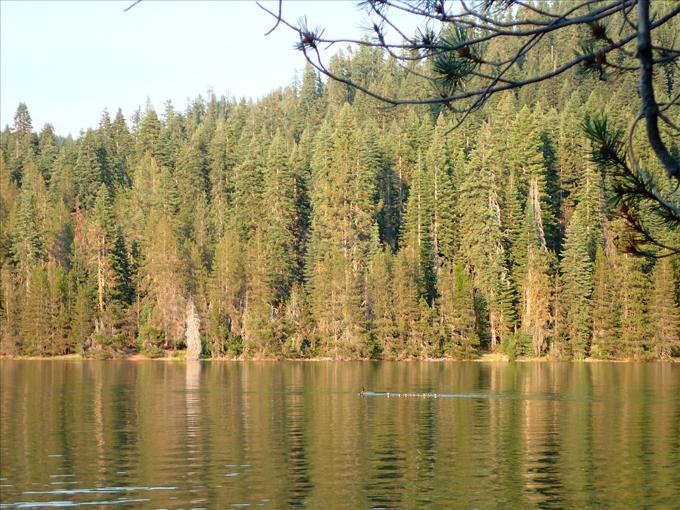 reservoir camping