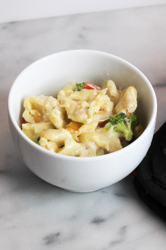Cheese + Vegetable Spaetzle