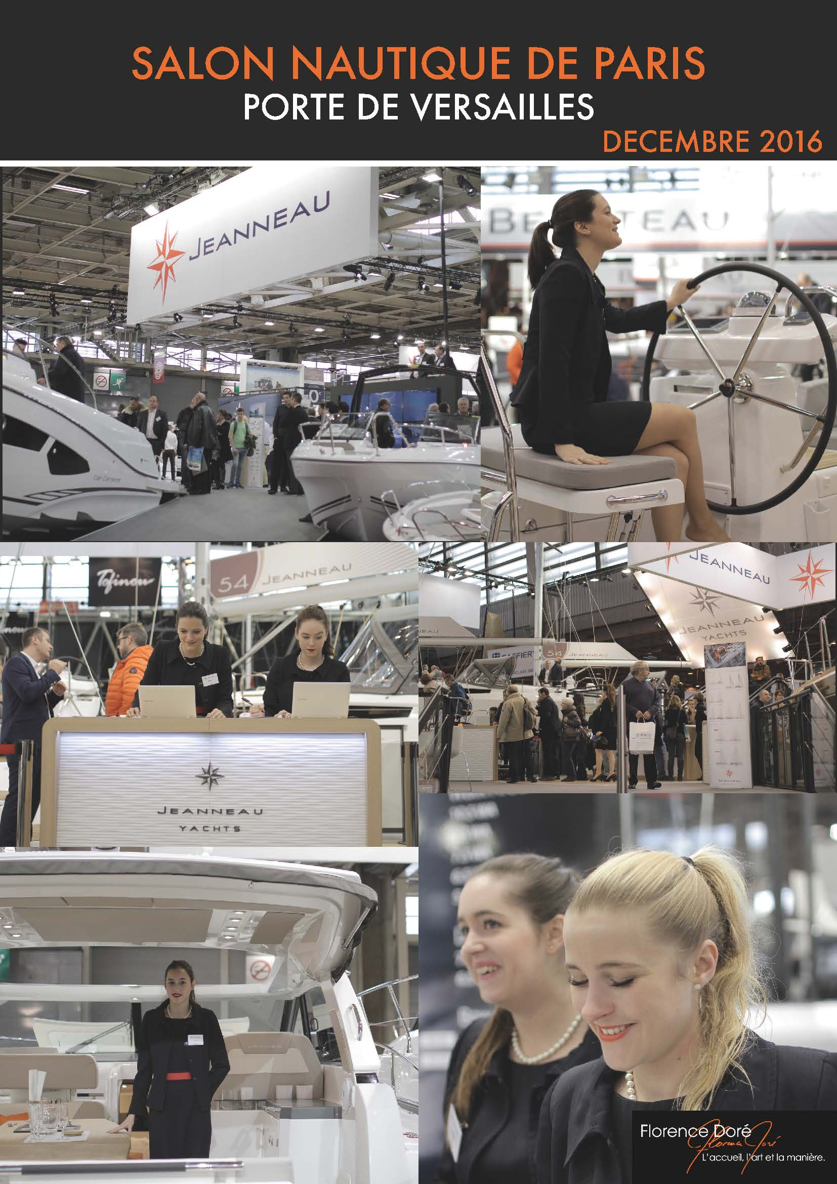 Salon Nautique International De Paris Florence Doré Salon Nautique International De Paris 2016