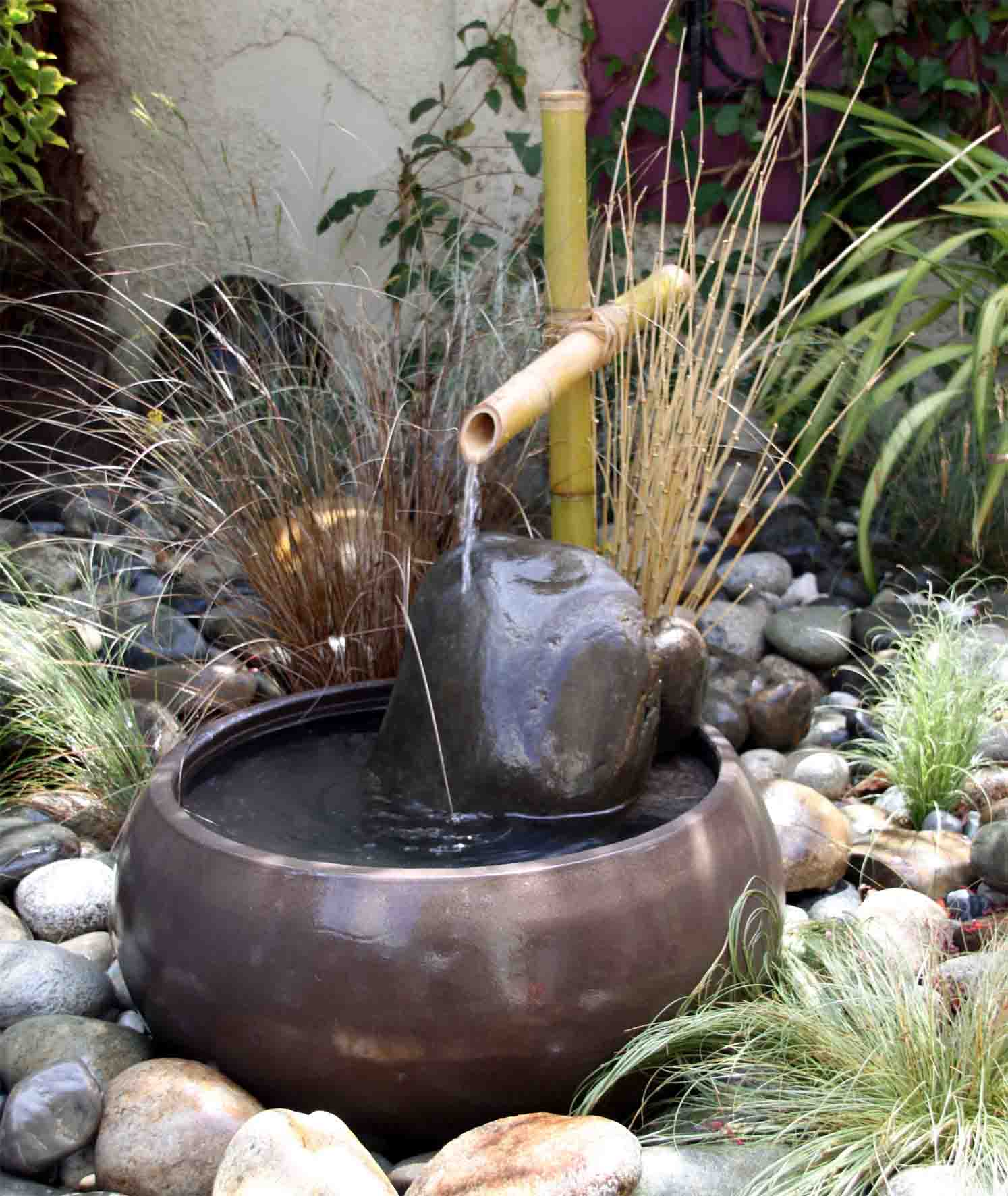 Fontaine Zen Bambou Galerie Photo I