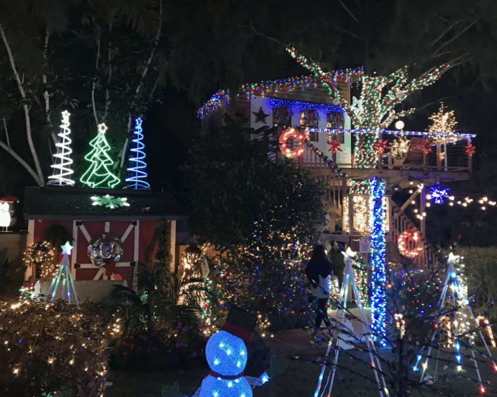 Best Place For Christmas Decorations 5 Of Florida S Best Christmas Light Displays