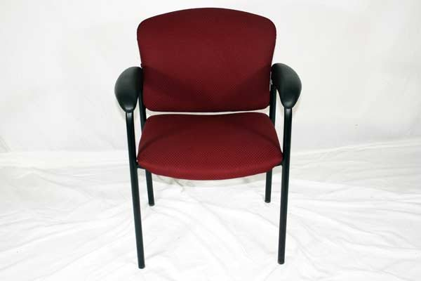 Quality Used Burgundy Guest Chairs In Orlando Used Hon Tiempo