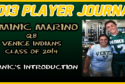 PLAYER JOURNAL: Venice QB, Dominic Marino – Introduction