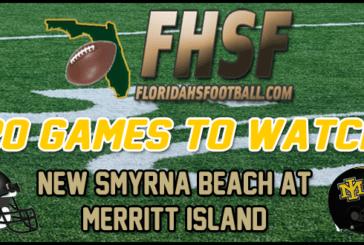 20 GAMES TO WATCH: New Smyrna Beach at Merritt Island