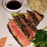 Seared, delicious tuna.