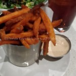 Sweet potato fries - a must at The Counter!