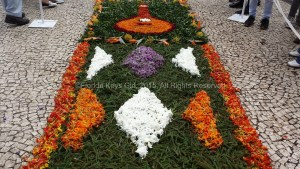 Just one of the flower carpets around Funchal.