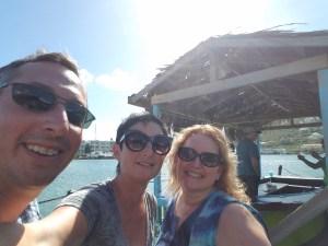 Gratuitous waterfront selfie