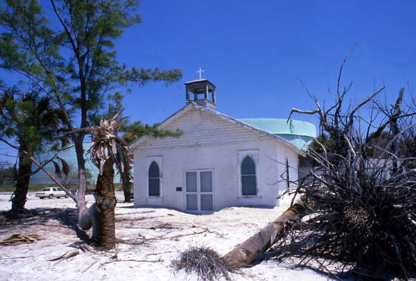 Audio Library Florida Memory - View Of The Amory Memorial Chapel At The