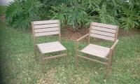 Custom Patio Furniture - Custom 'Eco Wood' Chairs