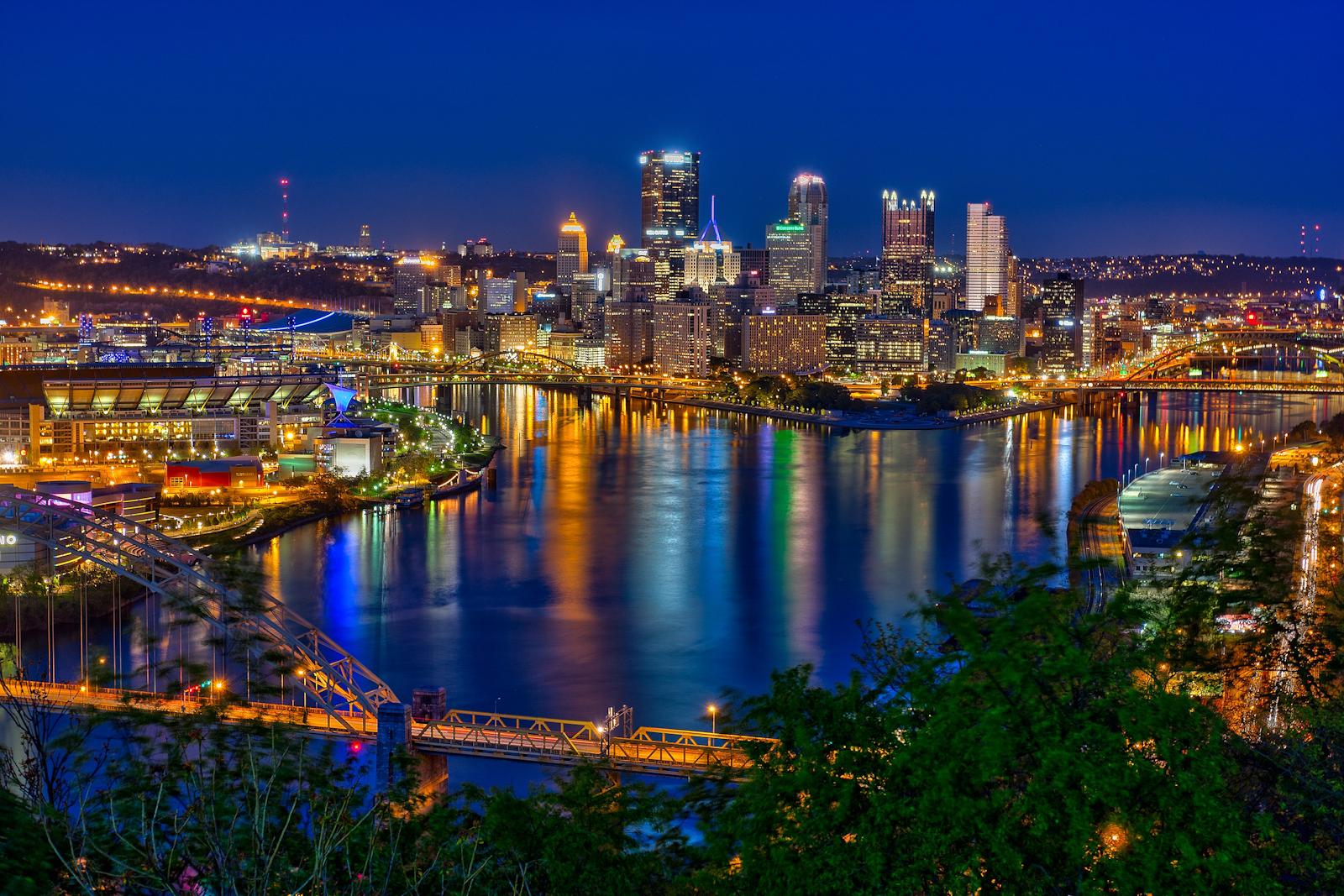 Portland Oregon Fall Had Wallpaper Pittsburgh Skyline And The Steelers Matthew Paulson